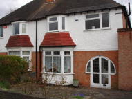 3 bed semi detached property in Park hill Road, Harborne...