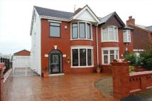 semi detached house for sale in St Annes Road, Blackpool