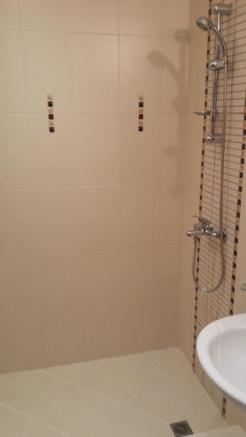 main shower