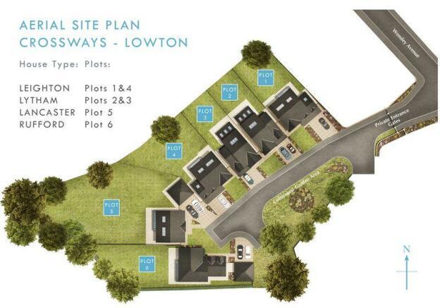 Aerial Site Plan