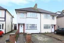 semi detached house in The Fairway, Ruislip...