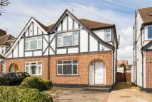 3 bedroom semi detached home in Melthorne Drive, Ruislip...
