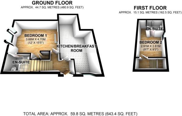 Floorplan Flat 3