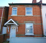 semi detached property in 136A Spring Road...