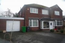 Detached house in Gibwood Road, Northenden...