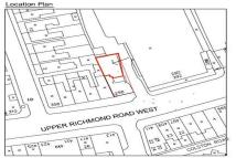 Land to rent in Upper Richmond Road West...