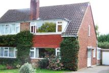 3 bed semi detached home to rent in Robyns Way, Sevenoaks...