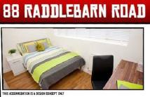8 bed house in Raddlebarn Road...