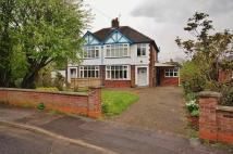 South Avenue semi detached property for sale