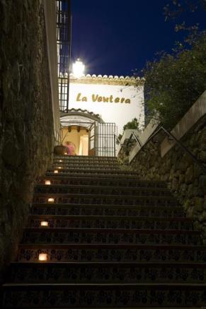 Entrance to this Andalucian hotel