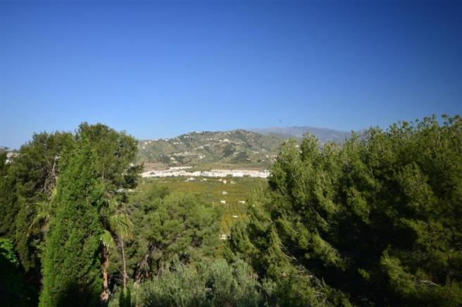 Lovely mountain view from the villa