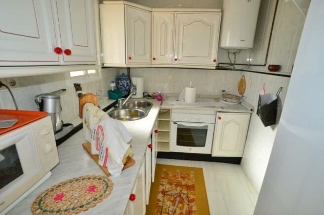 Kitchen in guest apartment