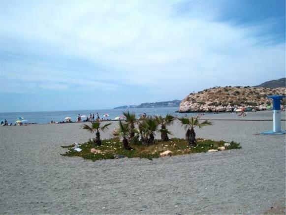 La Herradura beach is a 5 minute drive from villa