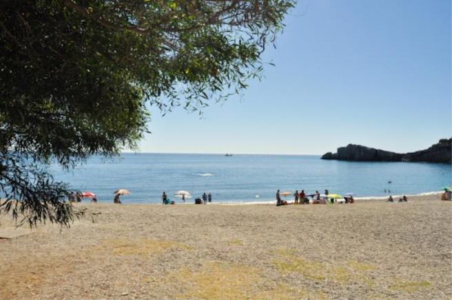Beach that is walking distance from the villa