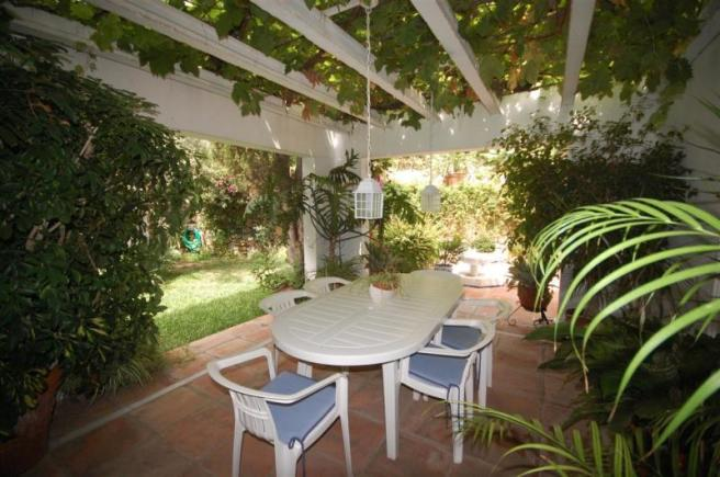 Charming patio perfect for al fresco dining