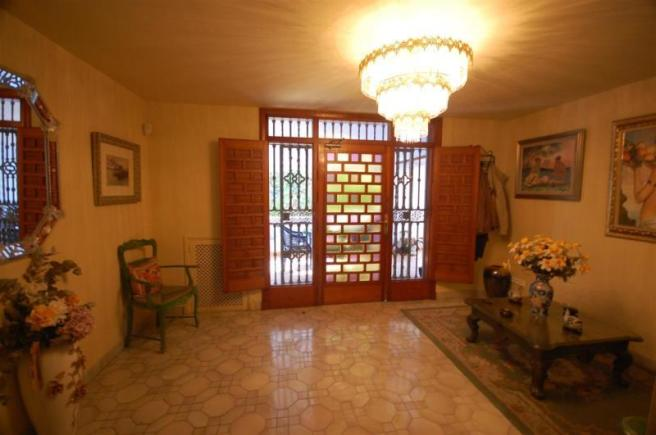 Entrance of this andalucian villa