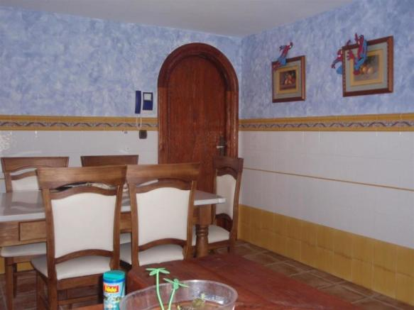 Dining area within the kitchen