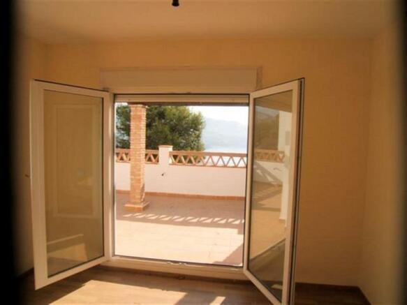 Large windows to enjoy the views & PVC windows