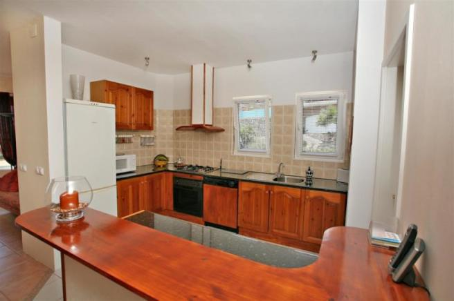 kitchen in one villa in Costa Tropical