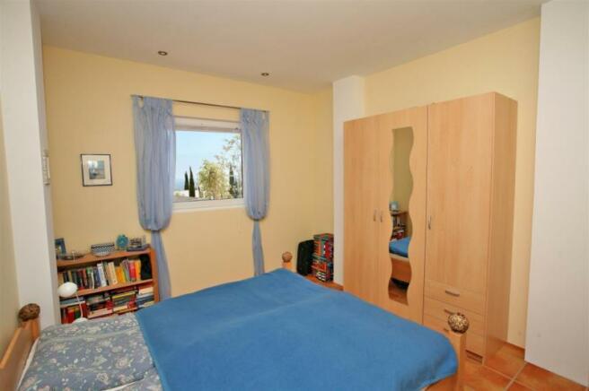 Bedroom in one villa in Salobreña
