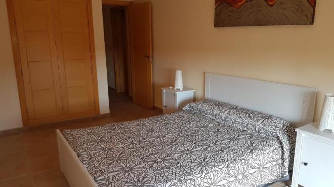 Good sized bedroom with built in wardrobe