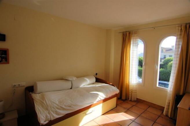 Bedroom of villa for sale in Costa Tropical of Gra