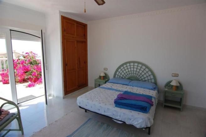Main bedroom has terrace & ensuite bathroom