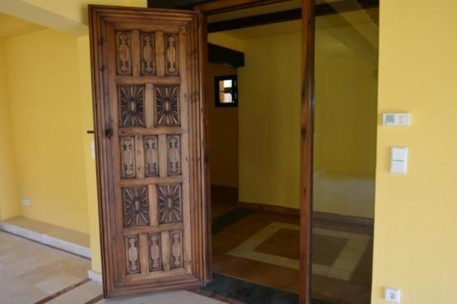 Beautiful wood work throughout this special villa
