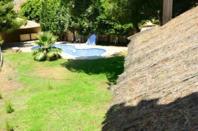 Plenty of room to sunbathe around the pool