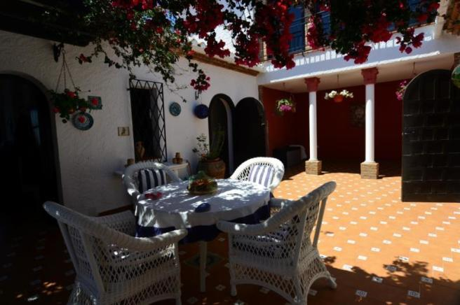 Romantic Andalusian patio