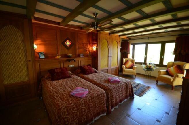 Andalusian motif, guest suite on entrance level