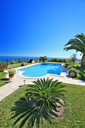 Pool in villa in Andalucia Spain