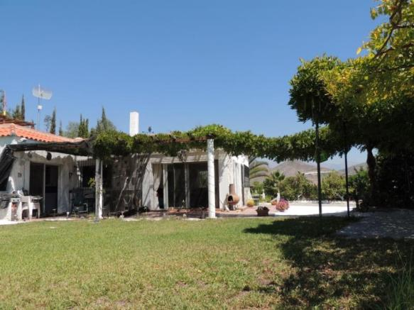 House is close to the beach & town of Salobrena