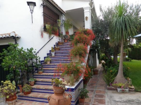 Stairs in andalusian style