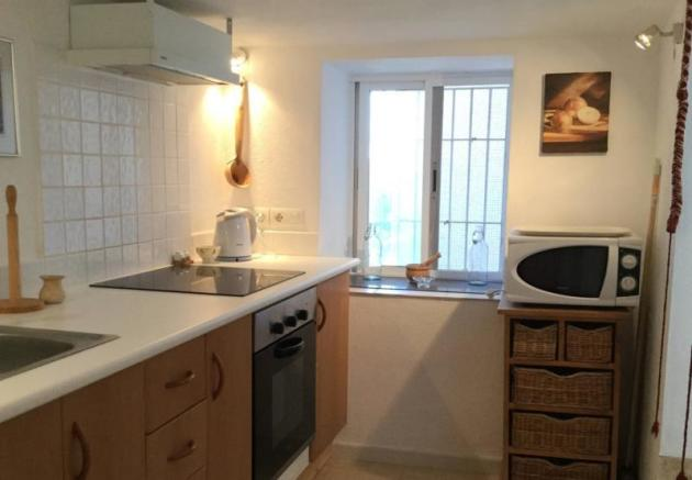 Fully fitted apartments kitchen