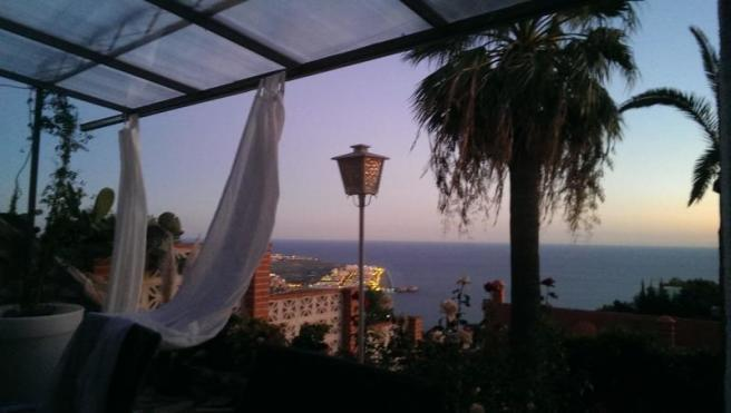 Enjoy the view in summer nights!