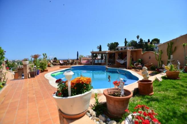 Beautiful view from this Andalucian villa
