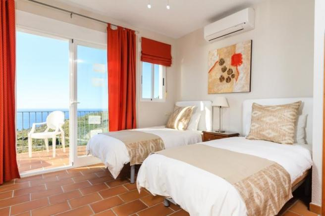 Beautiful sea views from 2nd bedroom