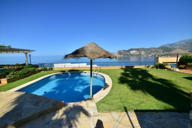 Very nice sea views from terrace