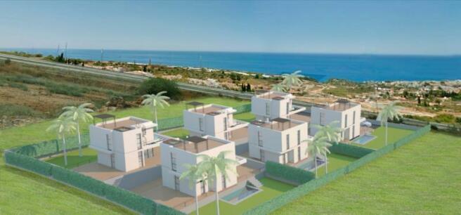 Designer villas for sale in Nerja with sea views