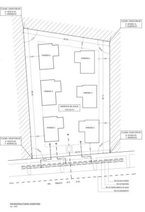 Layout of the 6 units