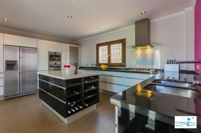 Large kitchen perfect for creating gourmet meals