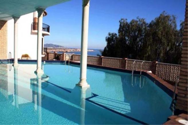Beautiful view from communal pool