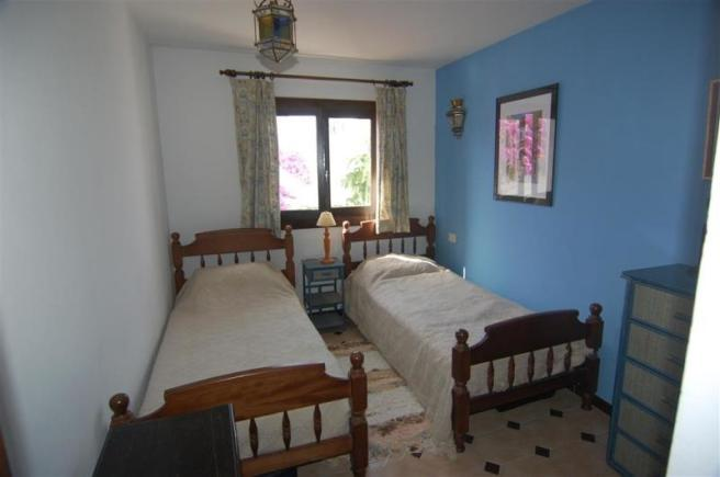 One of the 3 bedrooms