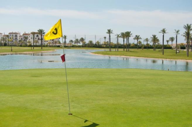 The golf course is within walking distance!