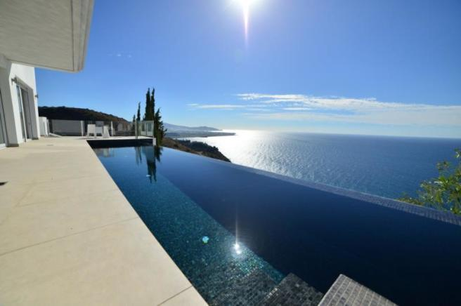 Amazing sea views from this very special villa