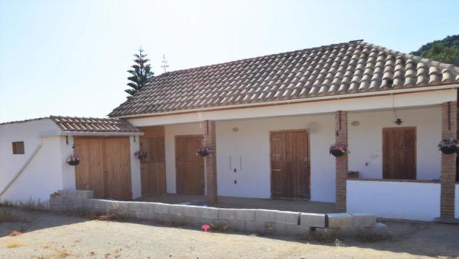 There are three spacious stables