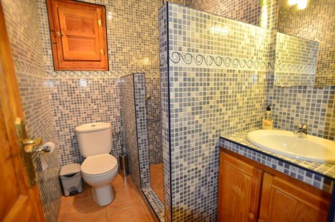 Bathroom of the main house