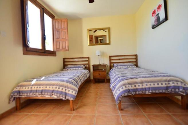Twin room of the guest accommodation