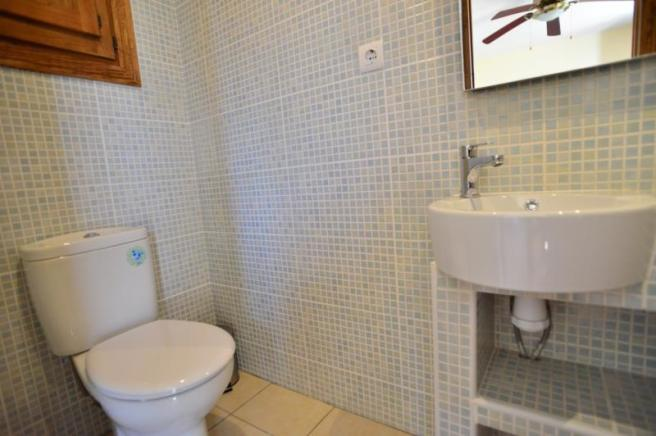 Ensuite bathroom of the guest area